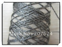 Top quality 500*2 Anti-static Conductive Stainless steel fiber  Thread Wholesale / Retail  1KG