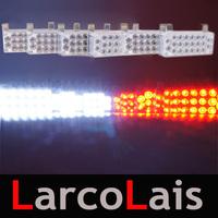 6x22 LED Strobe Flash Warning EMS Police Car Light Flashing Emergency Firemen Lamp 6*22 Yellow White Blue Amber Red Green