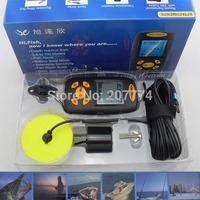 Portable Dot Matrix Sonar LCD Fish depth Finder, Alarm 100M AP,fishing iure,ice Sea Boat fishing finder russian drop brazil