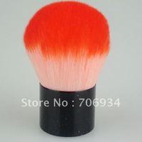 6pcs/lot Red Nylon Make Up Brushes makeup Brush Mushroom-shaped brushes Foundation brush 511