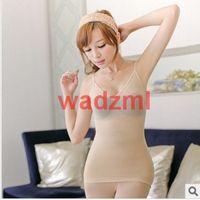 free shipping germanium titanium silver flat belly Slimming Vest Body Shaping Garment