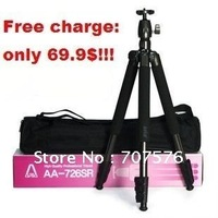 Free Feight Camera Accessories  SLR Digital Camera Tripod With Aluminium Alloy Material  ARIA AA-726SR