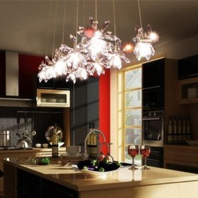 Egypt Imported Crystal 10-Light Bar Pendant lights(China (Mainland))