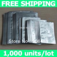 Free shipping,5x7cm (2''X2.8'') aluminum foil bags,aluminum foil pouch,for food storage bags