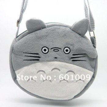 Free Shipping EMS 30/Lot My Neighbor TOTORO Plush Side Shoulder bag #L Wholesale