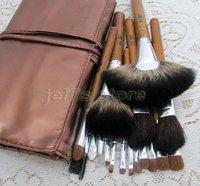 18pcs Soft Professional Artist Makeup Brushes Set Kit with PU Bag Eyeshadow Blusher Lip Brush Facial Makeup Tool