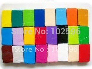 Hot Seling,Free Shipping,Colorful Soft Polymer Modelling Clay,size 4*3*1 cm per piece,40 pcs/lot,,wholesale