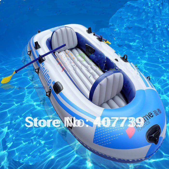 4 personnes gonflable la d rive bateau de p che d riveur kayak dans bateaux - Bateau gonflable 4 personnes ...