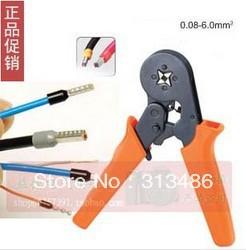 Shande Cable End-sleeves Crimping Plier Self Adjusting Ratcheting Ferrule Crimper AWG23-10(China (Mainland))