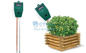 3 in 1 Plant Flowers Soil Test Kits PH Tester Moisture Meter Light Illuminance Analyzer  dropshipping