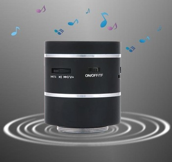 Original Dwarf 360 Omni-Directional Vibration Speaker, 5W+with Battery+without support TF spot +Freeshipping+low.  5W-02
