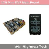 Factory Price DVR Board 1 Channel DVR Main Board with 32GB SD Support Remote Control