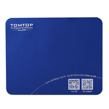 High quality super soft deslick Mouse mat with TOMTOP Logo 40pcs/lot(China (Mainland))