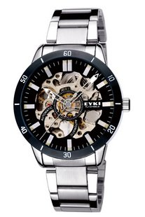 Christmas gift eyki watch men's watch mechanical watch factory supply the best price and the best quality freeshipping w8495ag(China (Mainland))