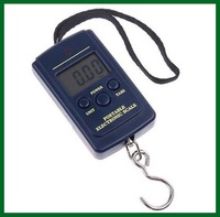 Palm scale 10g 40kg / 40kg - 10g Electronic Portable Fishing Digital Pocket Scale,lb, oz + free shipping