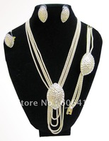 Fashion Jewelry sets gold plated for retail and wholesale with Free shipping J000306
