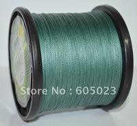 NEW 10pcs/lot  30lb 1500yard Moss Green Spectra PE Braid Fishing line