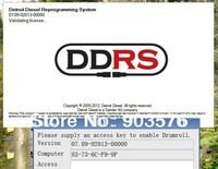 DDRS 7.09 Detroit Diesel Reprograming System  DDRS 7.09