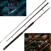Hotsale fishing rod 1pcs 3.05m Length/M Power/3 Sections High Carbon fishing pole fishing spinning rod