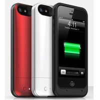 1700 mAh Backup portable Battey cases phone charger air style for iphone 5 5S with retaill package 1:1 with original logo
