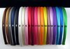Headbands Satin Headbands Children Headbands hair band 120pcs/lot 20 Colors Free Shipping