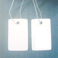 Free Shipping 500pcs Label Tie price Tag Jewellery Display 12mmX23mm LA6