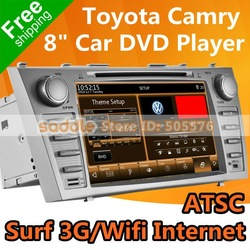 "8"" TOYOTA CAMRY Car DVD with GPS Navigation ATSC 1080P MP5 RDS iPod Bluetooth WinCE Wifi 3G ... TOYOTA CAMRY Car Stereo !(China (Mainland))"