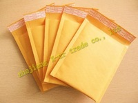 free shipping 100pcs/lot factory wholesale size 170*230mm Kraft Bubble Mailers Padded Envelopes Bags