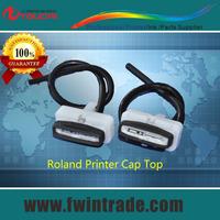 cap top for roland printer with foam sponge for sj/xj/vp/sp/xc/sc/fj/rs/lec 540/640/740