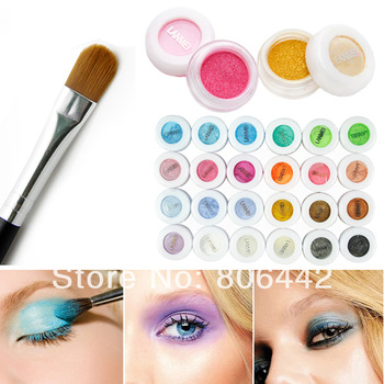 24 Color Eyeshadow Pigment Powder Eye Shadow Makeup Cosmetics Beatuy