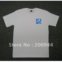 Promotional T-shirt / custom logo / minimum 100pcs / Free Shipping by EMS