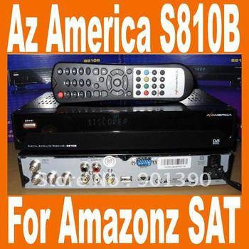 Azbox S810B RECEPTOR DE SATELITE South Amercia NTSC Azbox az america s810B USB Receiver(USB+PVR+FTA+Patch+HDMI) Free shipping