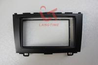 Free shipping-Car refitting DVD frame,DVD panel,Dash Kit,Fascia,Radio Frame,Audio frame for 08-11 Honda CRV,2DIN