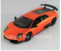 24pcs /lot rastar 1:24 radio remote control for Lamborghini LP670-4 1/24 20cm rc car orange & yellow 39000