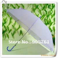 free shipping 100pcs/lot solid color gift umbrella, mixed colors supported