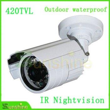 "1/3"" SONY CCD 420TVL Nightvision IR Outdoor Waterproof Surveillance CCTV Security Camera Free Shipping"