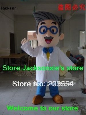 doctor of philosophy mascot costume Halloween costume party costume free shipping