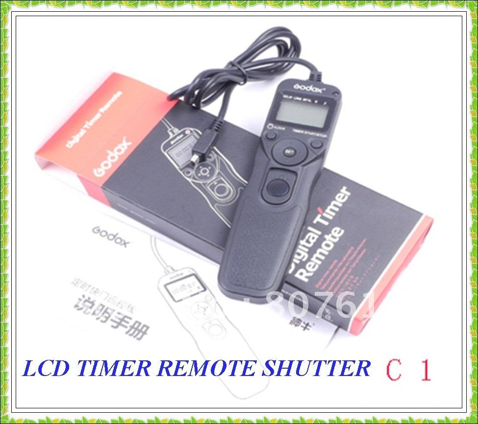 NEW Wholesale LCD TIMER REMOTE Controller SHUTTER FOR CANON TC-80N3(China (Mainland))