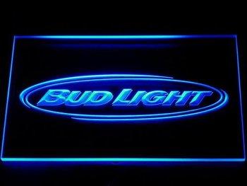 001 Bud Light Beer Bar Pub Club NR Neon Light Signs