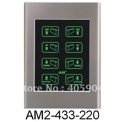 New Hotel Rolling Shutter Touch Screen Remote Control Switch(China (Mainland))