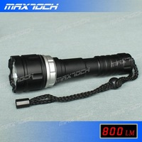 MAXTOCH T6 800LM Diving 18650 Aluminum LED Flashlight/Torch (DI6X-3), Waterproof/Dive/Bright, Christmas Promotion/Free shipping