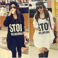 Free shipping,Hot Sale Womens Hoodies,Sexy Womens Sweatshirts Hoodies, Lady's Dust Coat Black/White/JK-004