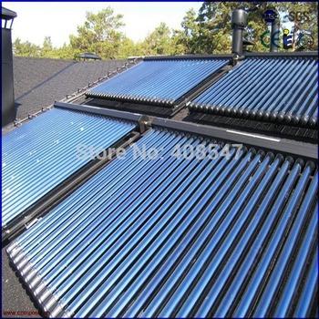 EN12975 58mm heat pipe solar thermal collector