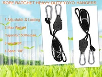 ROPE RATCHET HANGER REFLECTOR GROW LIGHT YOYO HEAVY+free shipping