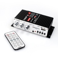 F273A Lepai LP-A6  With Remote Control  USB & FM Amp Car Amplifier