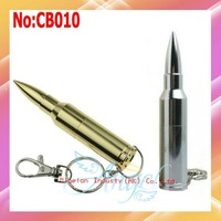 Wholesale USB Drive 1 year warranty 2 Color Metal Bullet USB Flash Memory Drive1GB 2GB 4GB 8GB 16GB 32GB 64GB #CB010