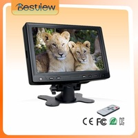 7 Inch Car TFT CCTV LCD monitor with BNC input ,New LED panel