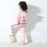 Retail 2014 hot Autumn fashion sports clothing, children's clothes & girls sportswear / girls Sports clothes