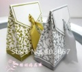 Free Shipping Damask wedding gift candy packaging bridal favor boxes paper bags 200pcs/lot Wholesale