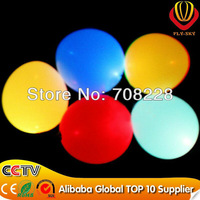 2012 new inventions 80pcs/lot CE ROHS LED flying balloon for wedding